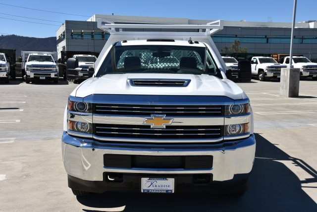2018 Silverado 3500 Regular Cab DRW 4x2,  Harbor Contractor Body #M18771 - photo 4