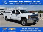 2018 Silverado 3500 Crew Cab 4x2,  Harbor TradeMaster Utility #M18773 - photo 1