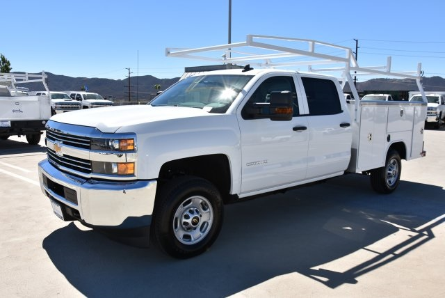 2018 Silverado 2500 Crew Cab 4x2,  Harbor TradeMaster Utility #M18784 - photo 5