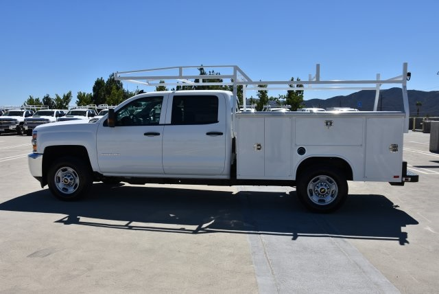 2018 Silverado 2500 Crew Cab 4x2,  Harbor TradeMaster Utility #M18784 - photo 6