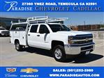 2018 Silverado 2500 Crew Cab 4x2,  Harbor TradeMaster Utility #M18784 - photo 1