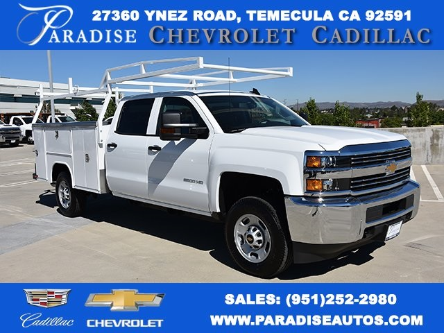 2018 Silverado 2500 Crew Cab 4x2,  Harbor TradeMaster Utility #M18786 - photo 1
