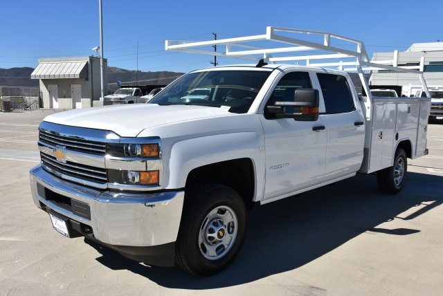 2018 Silverado 2500 Crew Cab 4x2,  Harbor Utility #M18786 - photo 5