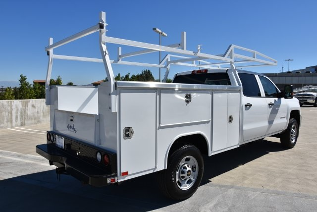 2018 Silverado 2500 Crew Cab 4x2,  Harbor TradeMaster Utility #M18786 - photo 2