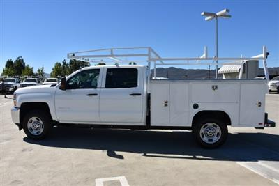 2018 Silverado 2500 Crew Cab 4x2,  Harbor TradeMaster Utility #M18786 - photo 6