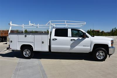 2018 Silverado 2500 Crew Cab 4x2,  Harbor TradeMaster Utility #M18786 - photo 9