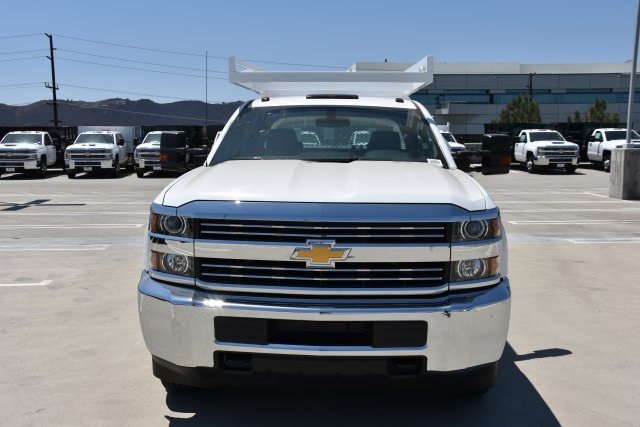 2018 Silverado 3500 Crew Cab DRW 4x2,  Martin's Quality Truck Body Contractor Body #M18841 - photo 4