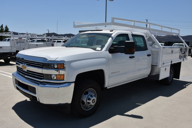 2018 Silverado 3500 Crew Cab DRW 4x2,  Martin's Quality Truck Body, Inc. Contractor Body #M18841 - photo 5
