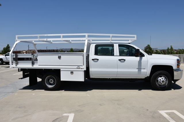 2018 Silverado 3500 Crew Cab DRW 4x2,  Martin's Quality Truck Body, Inc. Contractor Body #M18841 - photo 9