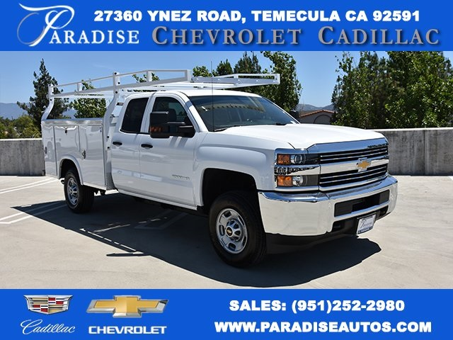 2018 Silverado 2500 Double Cab 4x2,  Royal Service Body Utility #M18864 - photo 1