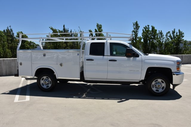 2018 Silverado 2500 Double Cab 4x2,  Royal Service Body Utility #M18864 - photo 9