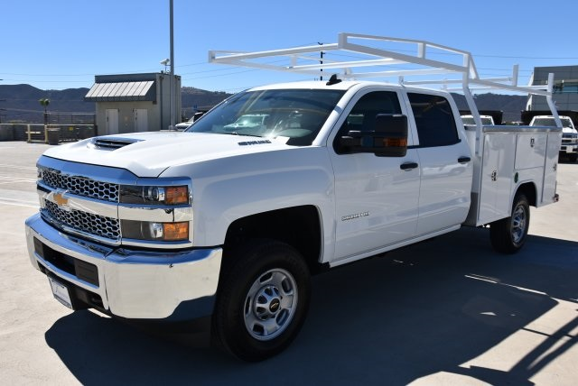 2019 Silverado 2500 Crew Cab 4x2,  Harbor Utility #M19005 - photo 5