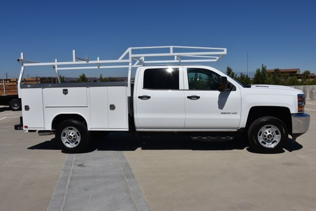 2019 Silverado 2500 Crew Cab 4x2,  Harbor TradeMaster Utility #M19005 - photo 9
