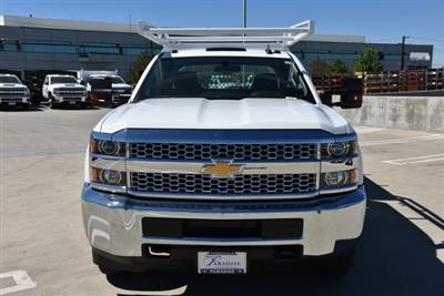 2019 Silverado 3500 Crew Cab DRW 4x2,  Harbor Standard Contractor Body #M19009 - photo 4