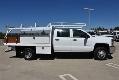 2019 Silverado 3500 Crew Cab DRW 4x2,  Harbor Standard Contractor Body #M19009 - photo 9