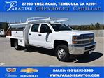 2019 Silverado 3500 Crew Cab DRW 4x2,  Harbor Contractor Body #M19009 - photo 1