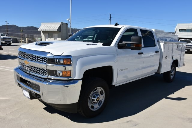 2019 Silverado 2500 Crew Cab 4x2,  Harbor Utility #M19011 - photo 5