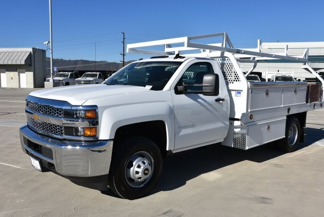2019 Silverado 3500 Regular Cab DRW 4x2,  Royal Contractor Body #M19057 - photo 5