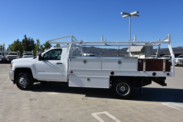 2019 Silverado 3500 Regular Cab DRW 4x2,  Royal Contractor Body #M19057 - photo 6