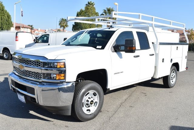 2019 Silverado 2500 Double Cab 4x2,  Harbor TradeMaster Utility #M19098 - photo 5