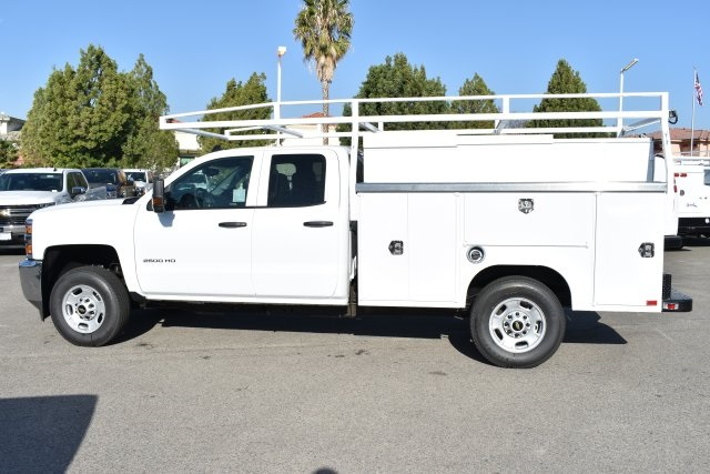 2019 Silverado 2500 Double Cab 4x2,  Harbor TradeMaster Utility #M19098 - photo 6