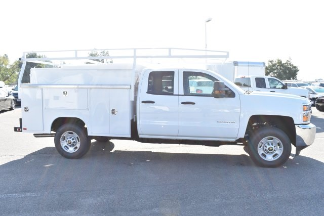 2019 Silverado 2500 Double Cab 4x2,  Harbor TradeMaster Utility #M19098 - photo 9