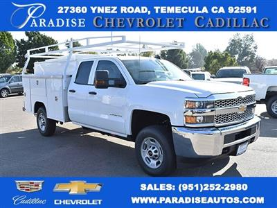 2019 Silverado 2500 Double Cab 4x2,  Harbor TradeMaster Utility #M19098 - photo 1