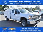 2019 Silverado 2500 Double Cab 4x2,  Harbor Utility #M19098 - photo 1