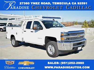 2019 Silverado 2500 Double Cab 4x2,  Royal Service Body Utility #M19134 - photo 1