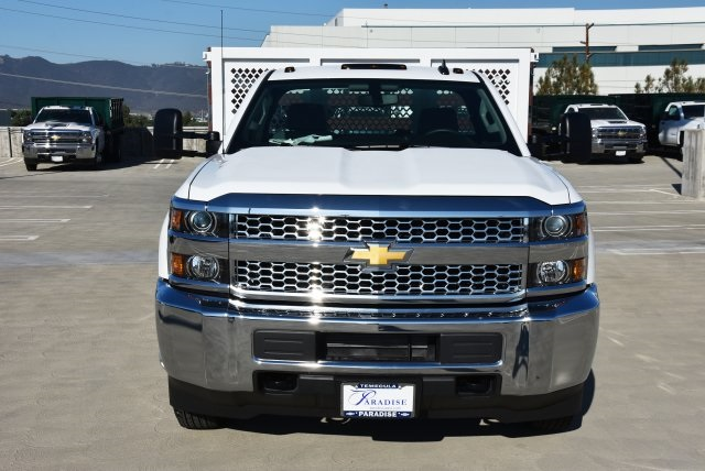 2019 Silverado 3500 Regular Cab DRW 4x2,  Royal Flat/Stake Bed #M19141 - photo 4