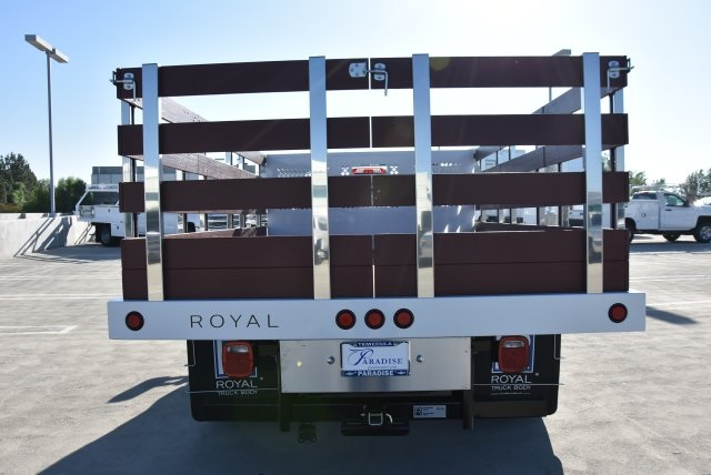 2019 Silverado 3500 Regular Cab DRW 4x2,  Royal Flat/Stake Bed #M19141 - photo 8