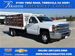 2019 Silverado 3500 Regular Cab DRW 4x2,  Royal Flat/Stake Bed #M19141 - photo 1