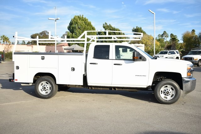 2019 Silverado 2500 Double Cab 4x4,  Harbor TradeMaster Utility #M19204 - photo 10