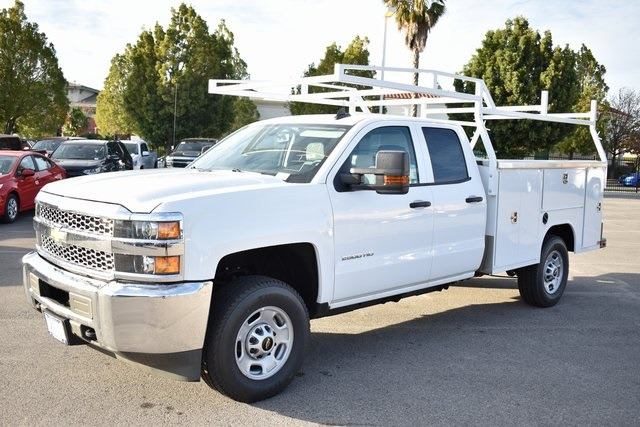 2019 Silverado 2500 Double Cab 4x4,  Harbor TradeMaster Utility #M19204 - photo 6