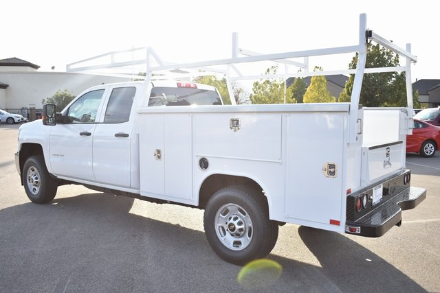 2019 Silverado 2500 Double Cab 4x4,  Harbor TradeMaster Utility #M19204 - photo 8