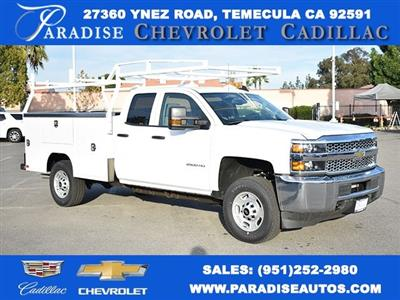 2019 Silverado 2500 Double Cab 4x4,  Harbor TradeMaster Utility #M19204 - photo 1