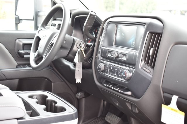 2019 Silverado 3500 Crew Cab DRW 4x2,  Flat/Stake Bed #M19487 - photo 11