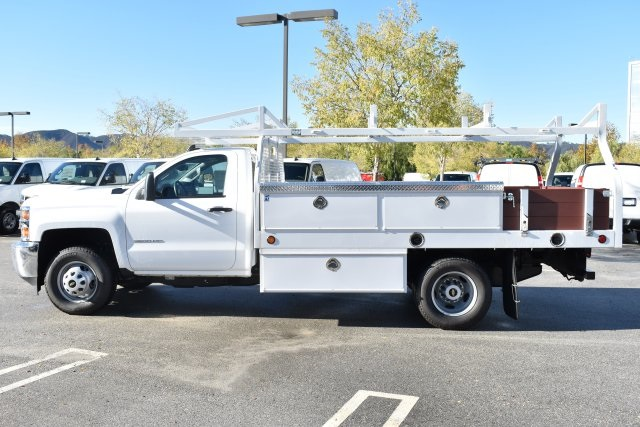 2019 Silverado 3500 Regular Cab DRW 4x2,  Royal Contractor Body #M19524 - photo 6