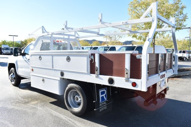 2019 Silverado 3500 Regular Cab DRW 4x2,  Royal Contractor Body #M19524 - photo 7