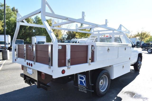 2019 Silverado 3500 Regular Cab DRW 4x2,  Royal Contractor Body #M19524 - photo 2