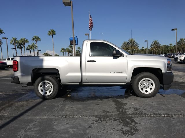 2017 Silverado 1500 Regular Cab 4x2,  Pickup #HZ351504 - photo 4