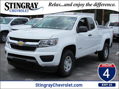2018 Colorado Extended Cab,  Pickup #J1282410 - photo 1