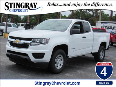 2018 Colorado Extended Cab 4x2,  Pickup #J1283738 - photo 1