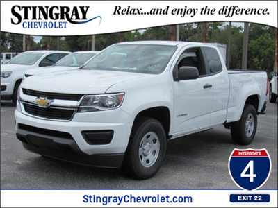 2018 Colorado Extended Cab 4x2,  Pickup #J1284035 - photo 1