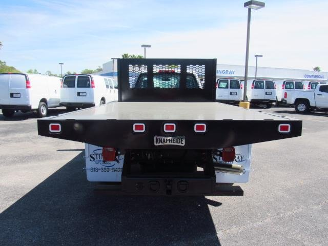 2018 Silverado 3500 Regular Cab DRW 4x4,  Knapheide Platform Body #JF136733 - photo 4