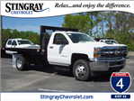 2018 Silverado 3500 Regular Cab DRW 4x4,  Knapheide Platform Body #JF136733 - photo 1