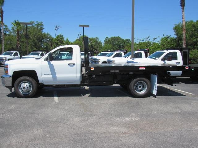 2018 Silverado 3500 Regular Cab DRW 4x4,  Knapheide Platform Body #JF137323 - photo 3