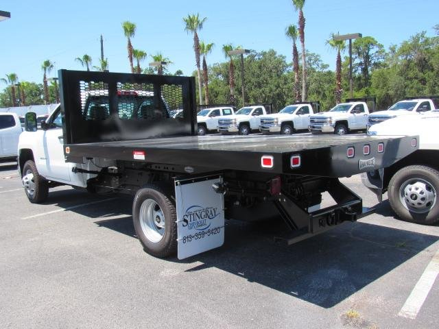 2018 Silverado 3500 Regular Cab DRW 4x4,  Knapheide Platform Body #JF137323 - photo 2