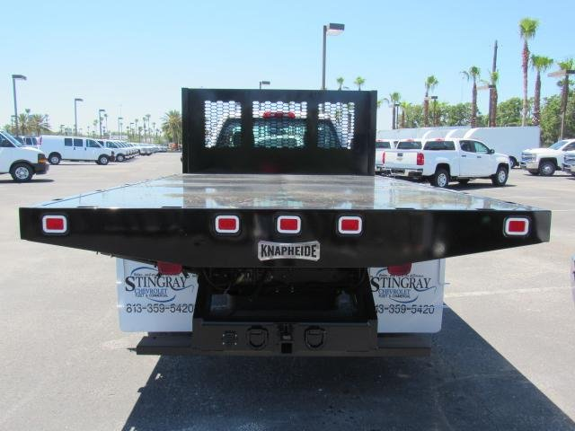 2018 Silverado 3500 Regular Cab DRW 4x4,  Knapheide Platform Body #JF137323 - photo 4