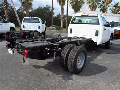 2018 Silverado 3500 Regular Cab DRW 4x4,  Cab Chassis #JF174639 - photo 4